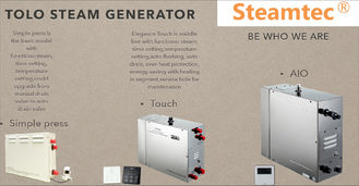 China Stainless Steel Electric Steam Generator 400V 6000w For hyperthermia therapy supplier