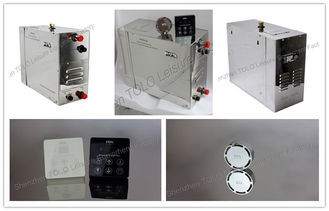 China 3kw - 24kw Stainless Steel Auto Draining Portable Steam Generator For Shower supplier