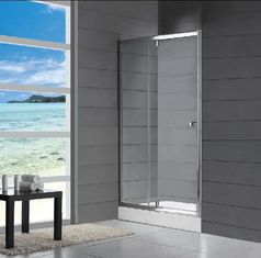 China Frosted Glass Enclosed Showers , Custom Bathroom Shower Cabinets supplier