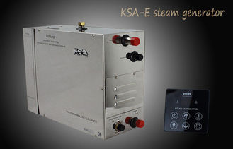 China Electric Steam Bath Generators 15kw 400v Grey with Auto Drain Function supplier