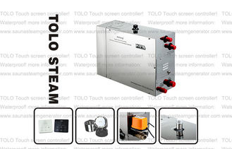 China Automatic Drain Valve Spa Steam Generator 220V 3.0Kw withTouch Screen Controller supplier