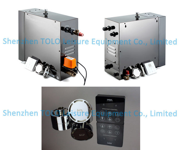 China Fully Automatic Steam Shower Generator Home Bathroom With 3 24kw