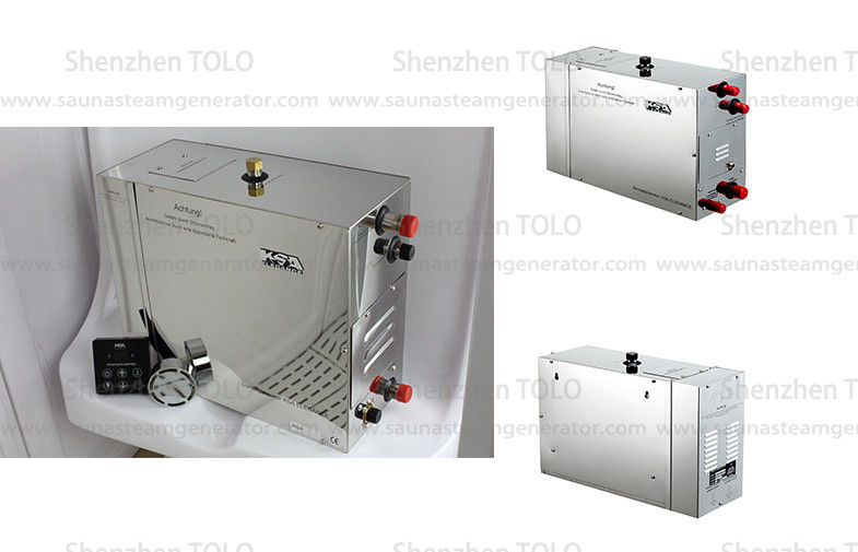 12kw Metal Sauna Steam Generator Auto Power Off For Steam Room 400v ...