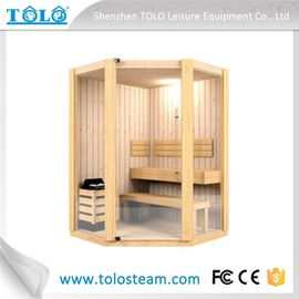 China Cedar Spa Sauna Electric Sauna Cabins Traditional For Weight Loss distributor