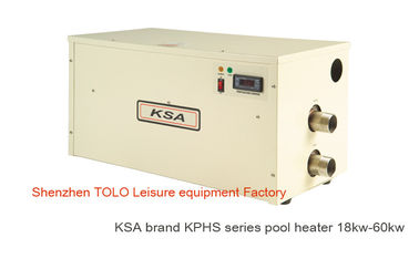 China Freestanding Electric Swimming Pool Heater , energy saving 380V 40kw Spa Heaters distributor